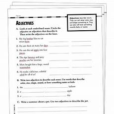 adjectives grade 3 collection printable leveled learning collections