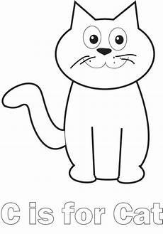simple cat line drawing at getdrawings free