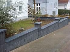 Vorgartenmauer Als Einfriedung Gartenservice Schlundt