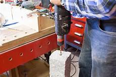 loch in stein bohren gartendeko granits 228 ule und beton deko selbst