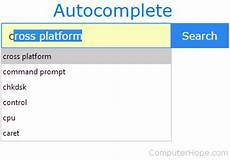 what is autocomplete