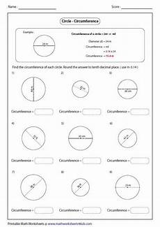 finding circumference using diameter geometry circumference pinterest math and worksheets