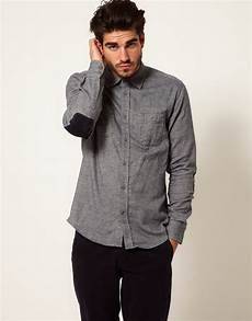 drykorn shirt with patches in blue for lyst