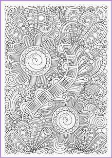zentangle art coloring page 5 for adult zentangle