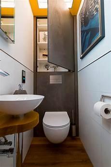 Design Gäste Wc - stauraum mit echter steinoberfl 228 che im wc hinkelmann und