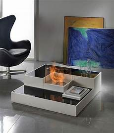 Cheminee Bio Ethanol Table Basse