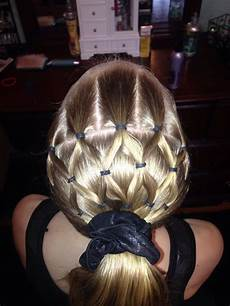 gymnastics hairstyle hairstyles pinterest style veils and hair