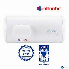 chauffe eau electrique 200l atlantic chauff 233 o horizontal