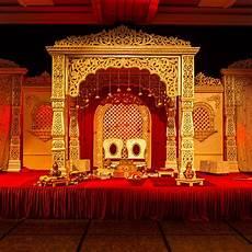 soma sengupta indian bridal decoration traditional red and gold soma sengupta indian wedding