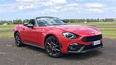 Abarth 124 Spider 2016 Review Australian Drive