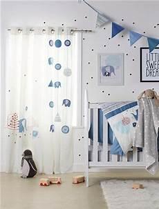 kinderzimmer gardinen jungen wimpel girlande f 252 r kinderzimmer blau vorhang