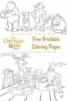 Robin Malvorlagen Lyrics Free Printable Disney Christopher Robin Coloring Pages