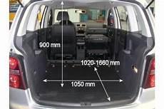 zafira b kofferraumvolumen bildergebnis f 252 r touran 1t kofferraum ma 223 e touran