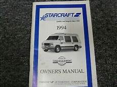 car repair manual download 1994 chevrolet sportvan g30 auto manual 1994 chevy g20 starcraft conversion van owner operator manual user guide diesel ebay