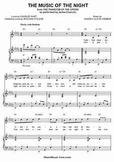 music of the sheet music andrew lloyd webbe