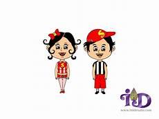 Gambar Animasi Anak Perempuan Terlengkap Dan Terupdate