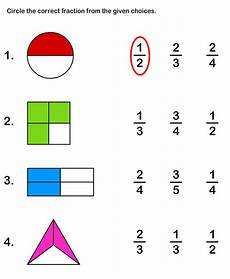 fraction worksheets level 1 4001 learn fraction worksheet 1