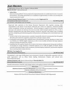 human resources resume exles resume professional writers