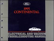 free car manuals to download 1995 lincoln mark viii spare parts catalogs 1995 lincoln continental electrical and vacuum troubleshooting manual