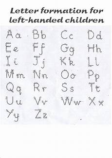 handwriting worksheets letter formation 21462 letter formation left handed free just in i need this for my lefties