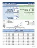 Free 401k Calculator For Excel  Calculate Your Savings