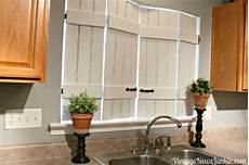 Kitchen Window Shutters Interior Ikea Bed Slats Turned Indoor Shutters At The Picket Fence