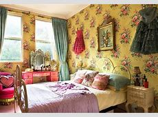 Trending: Flower Power and Bohemian Chic Decor   Tres Chic
