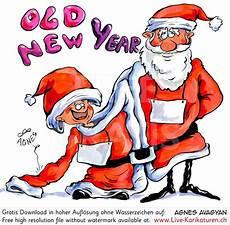 Malvorlagen Weihnachtsmann Jung Neujahr Jahreswechsel Weihnachtsmann Alt Jung Schild