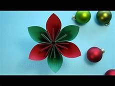 Weihnachtsdeko Basteln Aus Papier - basteln weihnachten weihnachtsdeko basteln mit papier