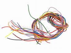 couleur de fil électrique fermez vous du fil 233 lectrique multicolore image stock