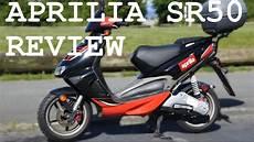 Aprilia Sr50 Review Best 50cc Scooter