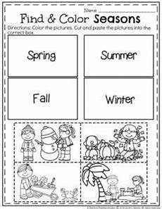 4 seasons worksheets for kindergarten 14892 match the four seasons homeschooling seasons worksheets seasons lessons preschool weather