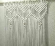 rideau en macram 233 rideau de macram 233 avec perles en bois