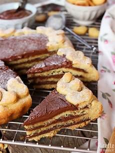 crostata alla nutella benedetta rossi crostata a strati alla nutella ricetta crostata dolci nutella