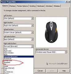 forwarding program windows how to disable quot back quot button on my mouse