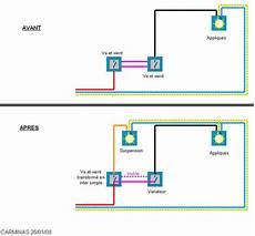 interrupteur va et vient avec variateur suppression d un va et vient pour faire 2 interrupteurs