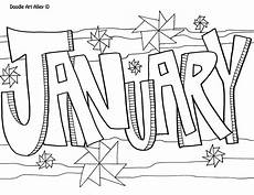 Neujahr Malvorlagen Januarie January Coloring Pages To And Print For Free