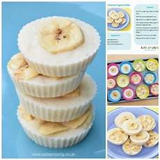 easy recipes for kids frozen banana yoghurt bites