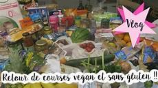 retour de courses vlog famille 215 grocery haul retour de courses vegan et sans gluten