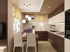 kleine küche mit essbereich ачерно модерен дизайн на апартамент в натурални цветове