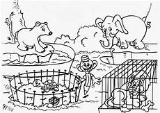 zoo coloring pages print color craft
