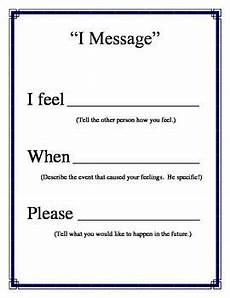 quot i message quot poster for conflict resolution counseling from counselorbev teachersnoteboo
