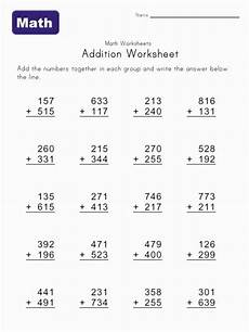 math worksheets for grade addition and subtraction 9904 addition math worksheet 1 addition worksheets math worksheets subtraction worksheets