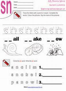 beginning consonant blend worksheets two letter blend phonics