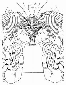 coloring page yu gi oh coloring pages 95
