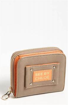 see by chlo 233 wallet in brown hippo lyst