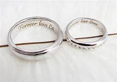 awesome words engraved wedding rings matvuk com