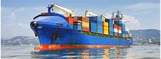 transport maritime container types of sea freight transportations
