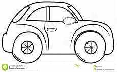 beetle car coloring page stock illustration illustration of abstract 53848662