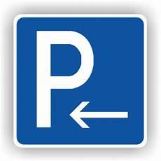 Verkehrsschilder Parkplatzschilder Parken Anfang